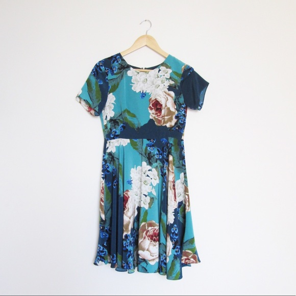 610e8a6b2b5b5 Anthropologie Dresses & Skirts - Anthropologie Corey Lynn Calter Paeonia  blue dress